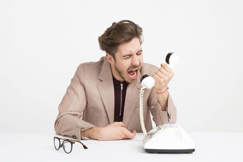 erreurs à éviter lors d'un accueil téléphonique