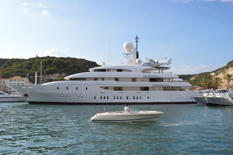 location de yacht pour un événement